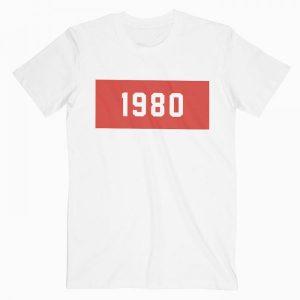 1980 Tshirt Unisex T Shirt