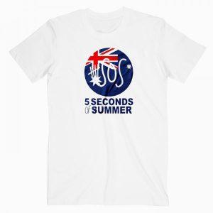 5 Second Of Summer Australia T Shirt