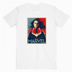 Captain Marvel Logo T Shirt