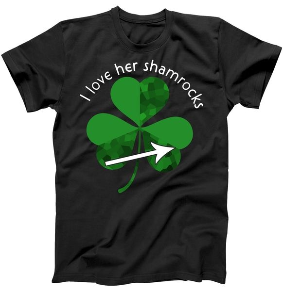 I Love Her Shamrocks T Shirt