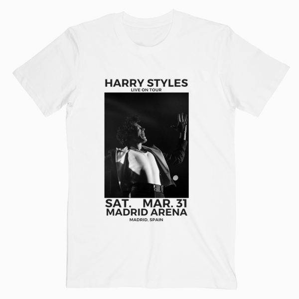 Harry Styles Live in Concert Madrid Spain T Shirt