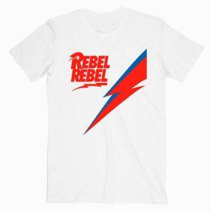 Rebel Rebel David Bowie T Shirt