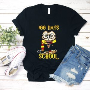 100 days owl of school T shirt