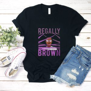 Regally Brown T Shirt