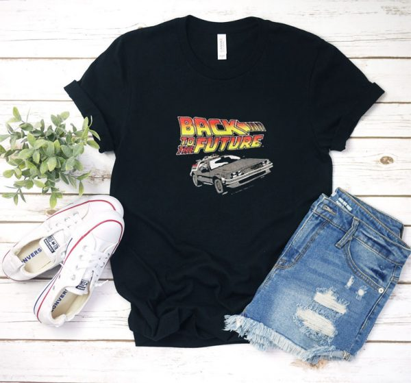 Vintage 1980s Back to the Future T Shirt