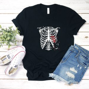 heart bone T Shirt