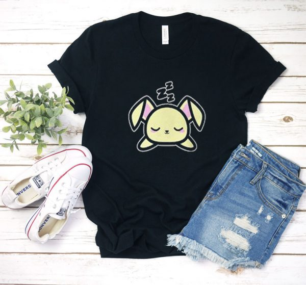 sleeping bunny T Shirt