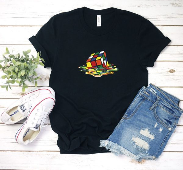 the big bang theory rubiks T Shirt