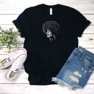 Angela Davis Crying Blood T Shirt
