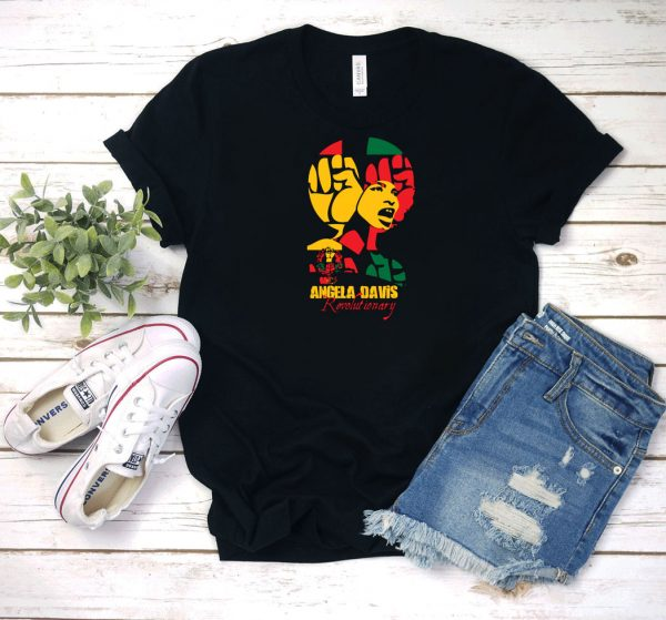 Angela Davis Revolutionary T Shirt