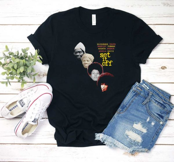 Angela Davis Set It Off T Shirt