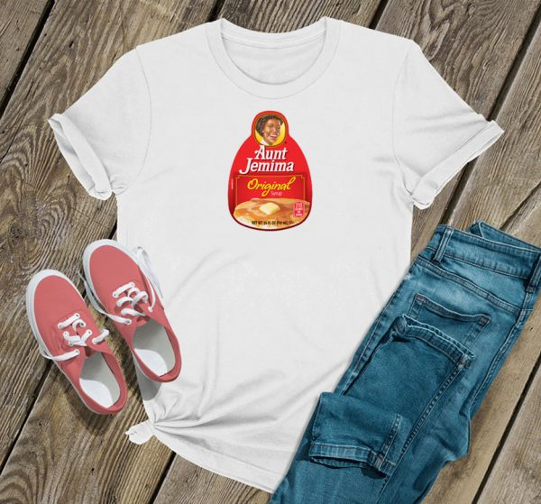 Aunt Jemima Maple Syrup Logo T Shirt