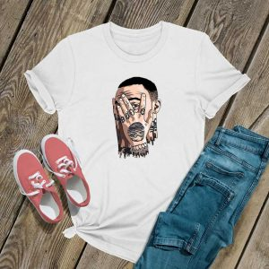 Face Art Mac Miller T Shirt