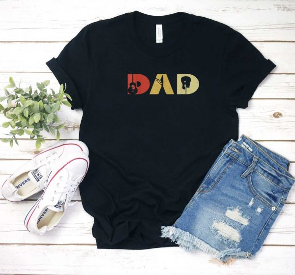 Guitarist Dad Fathers Day T Shirt