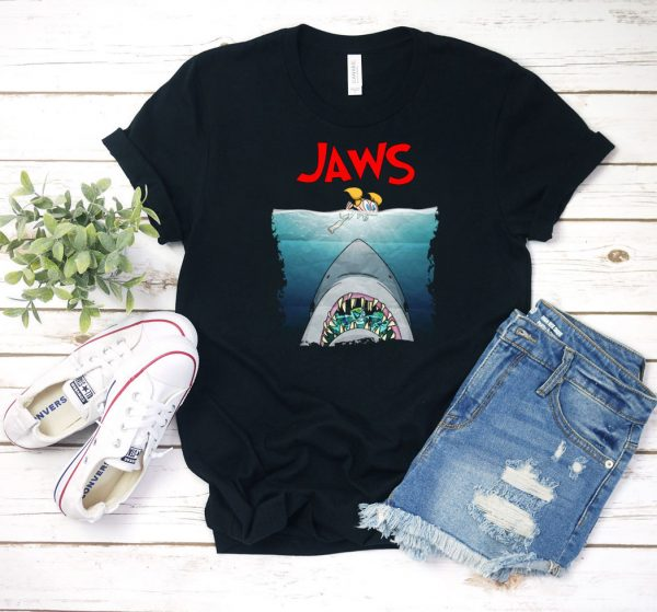 Jaws Graphic T Shirt