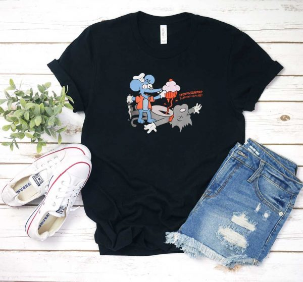 Johnny Cupcakes Itchy & Scratchy T Shirt