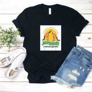 Juneteenth Celebration of Freedom T Shirt