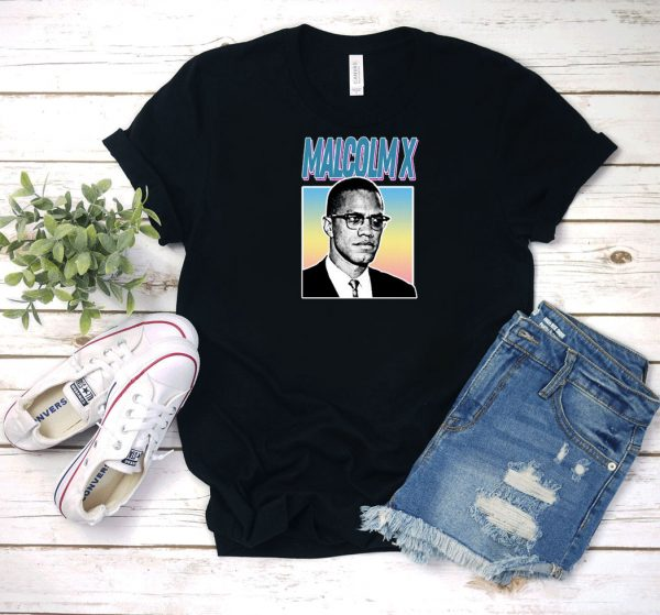 Malcolm X Aesthetic 90s T Shirt