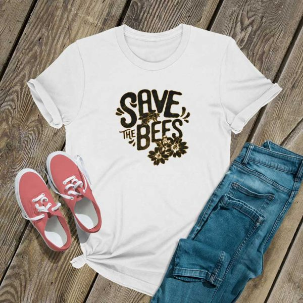 Save The Bees Official T Shirt
