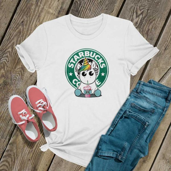 Unicorn Drink Starbucks Coffee T Shirt