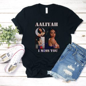 Aaliyah I Miss You T Shirt