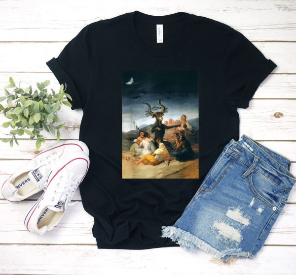 Goya Witches Sabbath Famous Painting T Shirt