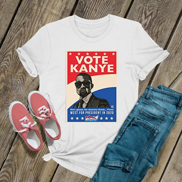 Kanye West 2020 for President Poster T Shirt