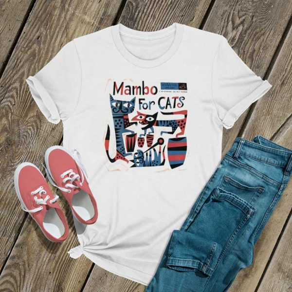 Mambo For Cats Jazz Music T Shirt