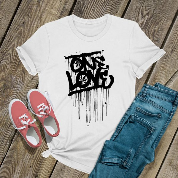 One Love Melted Logo T Shirt