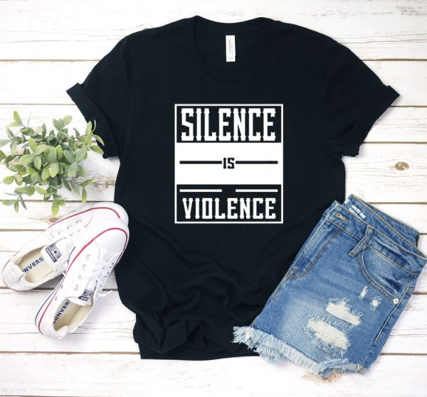 Silence Is Violence Box T Shirt