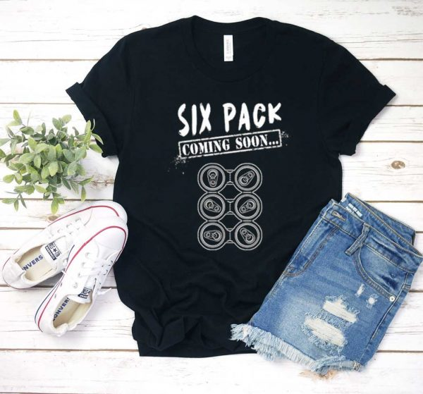 Six Pack Coming Soon Beer T Shirt