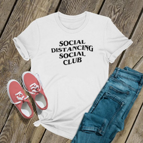 Social Distancing Social Club T Shirt