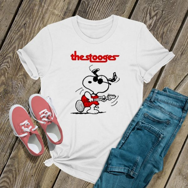 The Stooges Snoopy Guitar T Shirt