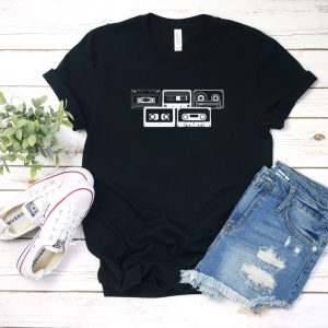 Retro Music Cassette Tapes T Shirt