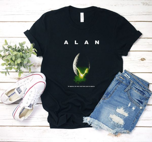Alan In Space T Shirt