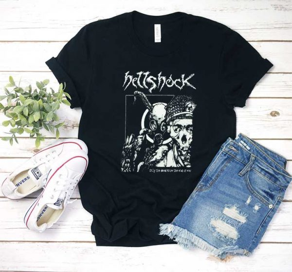 HELLSHOCK Only The Dead Know T Shirt