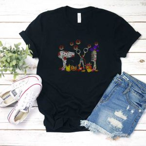 Hairstylists Pumpkin Halloween T Shirt