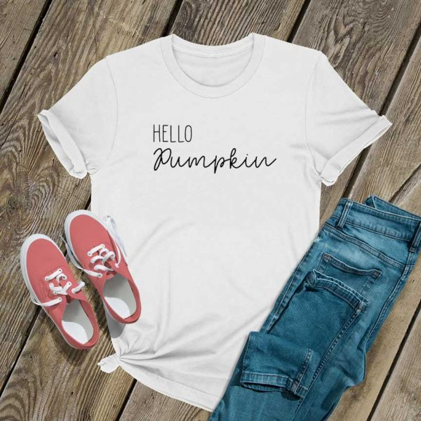 Hello Pumpkin T Shirt