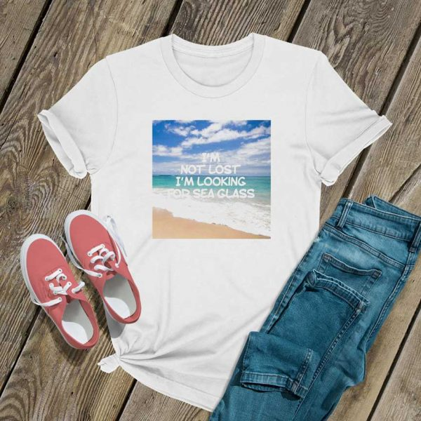 Im Not Lost T Shirt