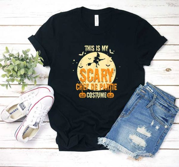 This My Scary Chef De Partie Costume Halloween Shirt