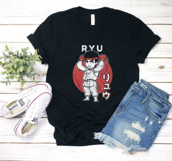 Chibi Ryu Street Fighter T Shirt