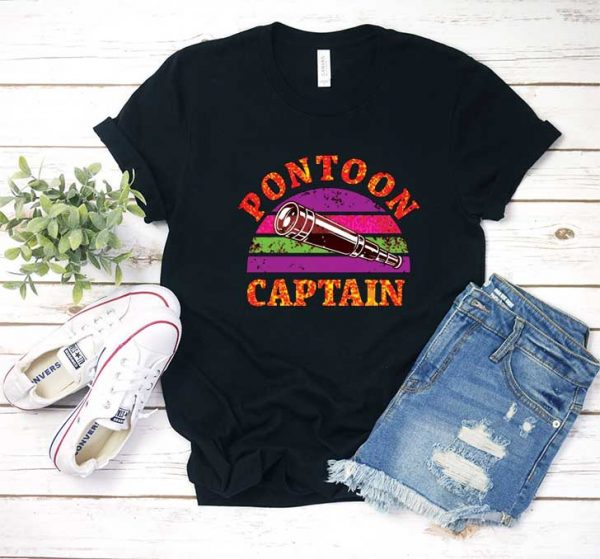 Funny Pontoon Boating T Shirt
