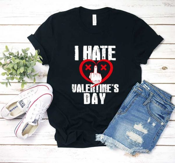I Hate Valentines Day T Shirt