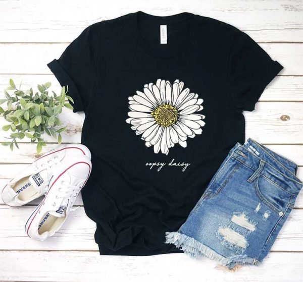 Oopsy Daisy Flower T Shirt