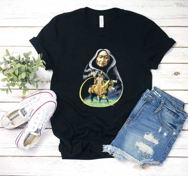 Vintage Native American T Shirt