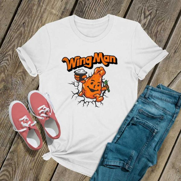 Wing Man Cartoon T Shirt