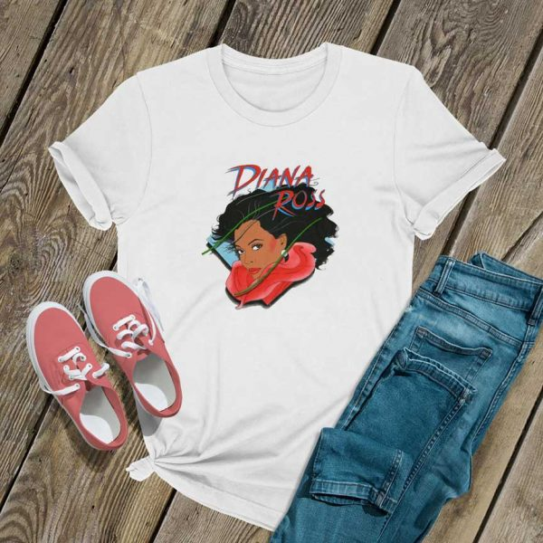 Diana Ross Art T Shirt