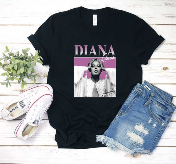 Diana Ross Graphic T Shirt