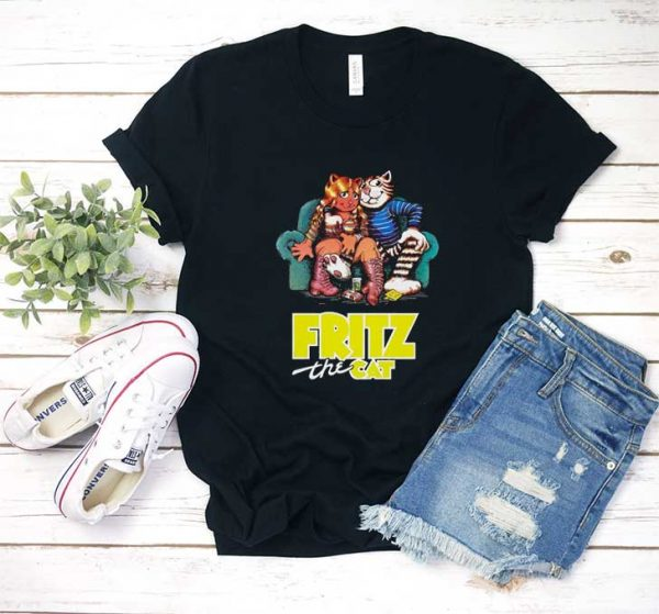 Fritz The Cat Movie T Shirt