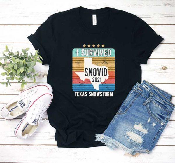 I Survived Texas Snowstorm T Shirt